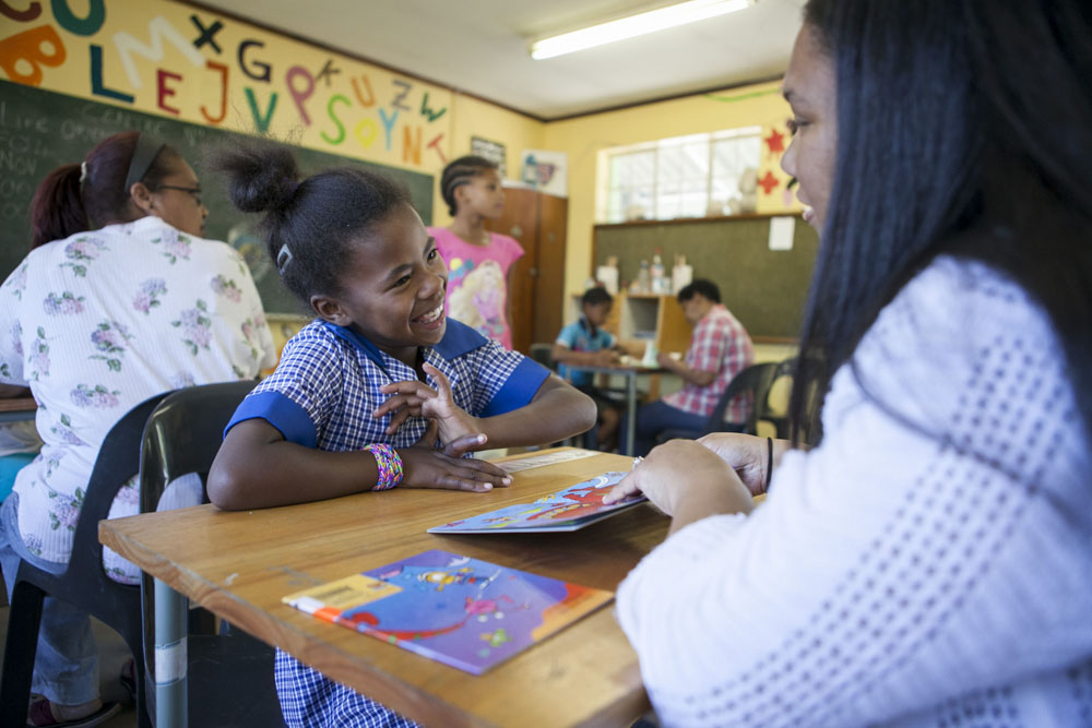 Early intervention programmes designed to strengthen early child literacy and language development using these proven programmes. For more information go to wordworks.org.za