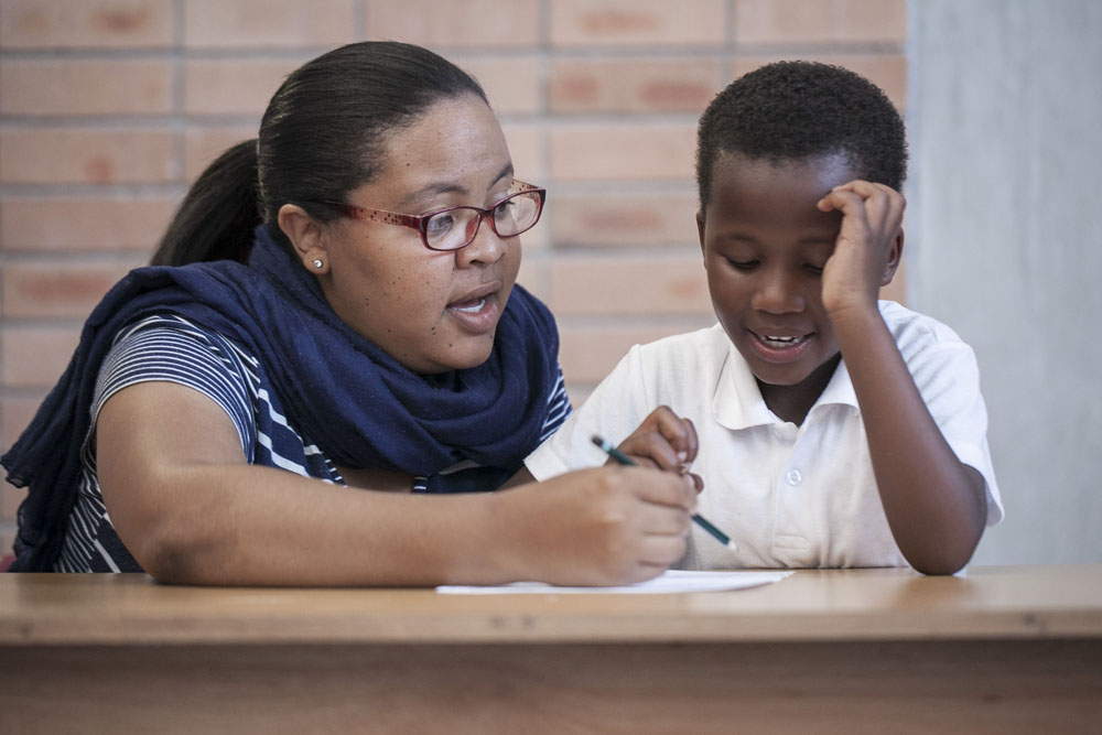 With a strong focus on reading and writing skills, GCU provides after-school tutoring and one-on-one help with homework.